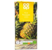Co Op Pure Pineapple Juice